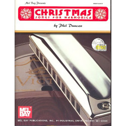 Christmas (+CD) : for harmonica