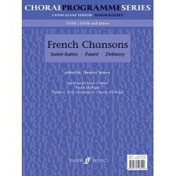 French Chansons : für gem Chor mit und ohne Klavier