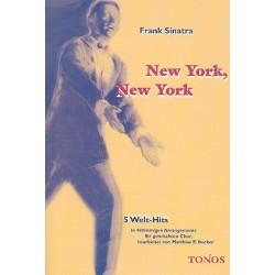 Sinatra, Frank: New York New York : 5 Welt-Hits für gem Chor Chorpartitur
