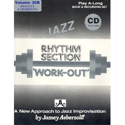 Aebersold, Jamey: Rhythm Section Work-out (+2 CD's) : for bass and drums