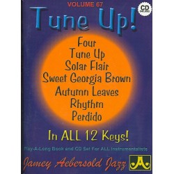 Aebersold, Jamey: Tune up : 7 Songs in all 12 Keys Playalong Book and CD 5621000681