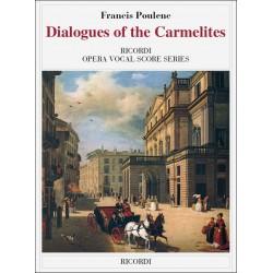 Poulenc, Francis: Dialogues of the Carmelites vocal score (en/fr)
