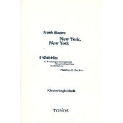 Sinatra, Frank: New York New York : 5 Welt-Hits für gem Chor Klavierbegleitung