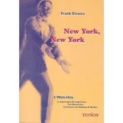 Sinatra, Frank: New York New York 5 Welt-Hits für Männerchor Chorpartitur