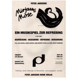 Janssens, Peter: MIRJAMS MOSE : EIN MUSIKSPIEL ZUR BEFREIUNG TEXTHEFT