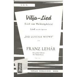 Lehár, Franz: Vilja-Lied aus Die lustige Witwe : für Salonorchester