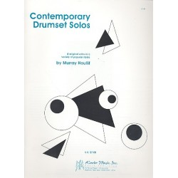 Houllif, Murray: Contemporary Drumset Solos