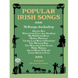 Popular Irish Songs : 36 songs for voice and piano