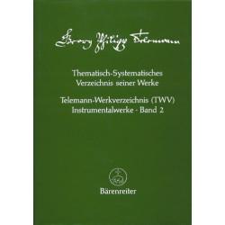 Telemann, Georg Philipp: Telemann-Werkverzeichnis Band 2 Instrumentalwerke
