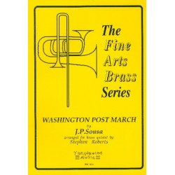 Sousa, John Philip: The Washington Post March : for brass quintet (1-2-1-1) score and parts