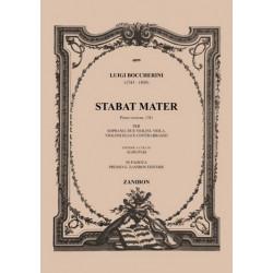Boccherini, Luigi: Stabat mater prima versione G532 : für Sopran und Streicher Stimmen