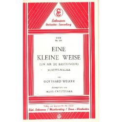 Welker, Gotthard: Eine kleine Weise : f├╝r Salonorchester