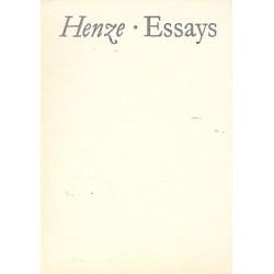 Henze, Hans Werner: ESSAYS
