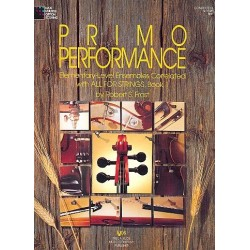 Frost, Robert S.: Primo Performance vol.1 : elemen- tary-level ensembles conduct. score all for strings