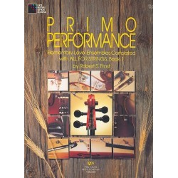 Frost, Robert S.: Primo Performance vol.1 : Elementary-level ensembles cello score
