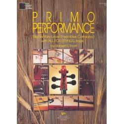 Frost, Robert S.: Primo Performance vol.1 : Elementary-level ensembles bass score