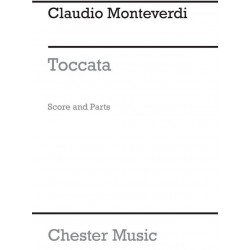 Monteverdi, Claudio: Toccata : 3 pieces from the operas for woodwind ensemble score+parts