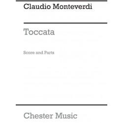 Monteverdi, Claudio: Toccata 3 pieces from the operas for woodwind ensemble score+parts