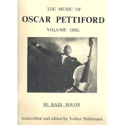 Pettiford, Oscar: The Music of Oscar Pettiford vol.1 : 80 bass solos