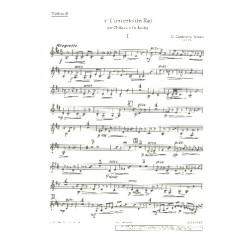 Castelnuovo-Tedesco, Mario: Konzert D-Dur Nr.1 op.99 : für Gitarre und Orchester Violine 2