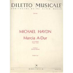Marcia A-Dur : für Posthorn und Kammerorchester Partitur