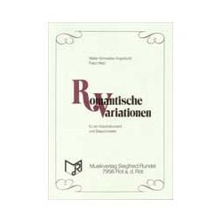 Schneider-Argenb├╝hl, Walter: Romantische Variationen : f├╝r ein Soloinstrument und Blasorchester