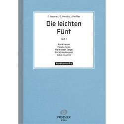Die leichten F├╝nf Band 1 : f├╝r Handharmonika (1. und 2. Stimme)