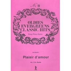 Plaisir d'amour : für Klavier (leicht)