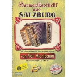 Harmonikastückl aus Salzburg (+CD) : für Handharmonika (mit 2. Stimme)
