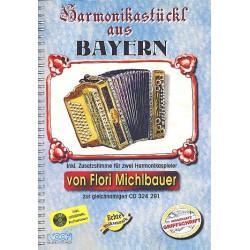 Michlbauer, Florian: Harmonikastückl aus Bayern (+CD) : für Handharmonika (mit 2. Stimme)