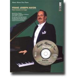 Haydn, Franz Joseph: Music minus one piano : concerto d major
