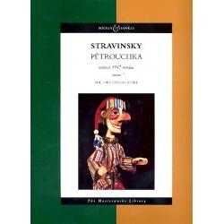 Strawinsky, Igor: P├®trouchka : for orchestra score