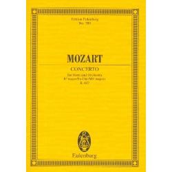 Mozart, Wolfgang Amadeus: Konzert Es-Dur Nr.3 KV447 : für Horn und Orchester Studienpartitur