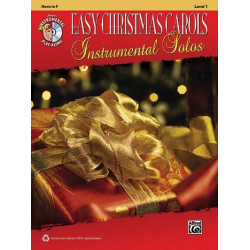 Easy Christmas Carols (+CD) : for horn