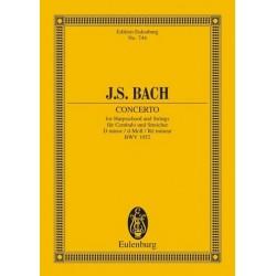 Bach, Johann Sebastian: Konzert d-Moll BWV1052 für Cembalo und Orchester Studienpartitur