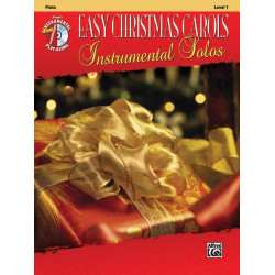 Easy Christmas Carols (+CD) : for flute