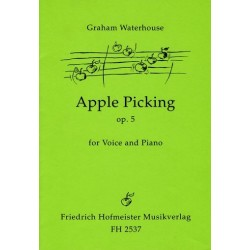 Waterhouse, Graham: Apple Picking op.5 : for voice and piano