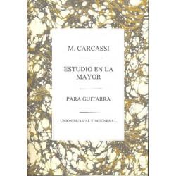 Carcassi, Matteo: Estudio la mayor op.60,3 : para guitarra