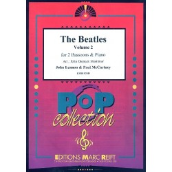 The Beatles vol.2 : 3 songs for 2 bassoons and piano