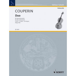 Couperin, Francois (le grand) *1668: Duo G-Dur für Baßinstrumente