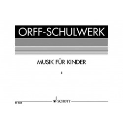 Orff, Carl: Musik für Kinder Band 2 : Dur, Bordun-Stufen Partitur