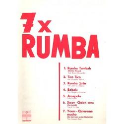 7 mal Rumba : für Gesang und Klavier