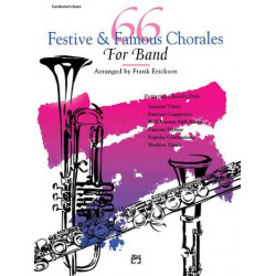 66 festive and famous Chorales for Band : timpani