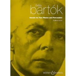 Bartók, Béla: Sonata : for 2 pianos and percussion score (1937)