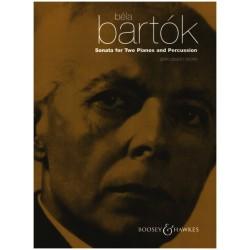 Bartók, Béla: Sonata : for 2 pianos and percussion Percussion part