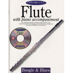 SOLO PLUS (+CD) : BOOGIE AND BLUES FOR FLUTE AND PIANO
