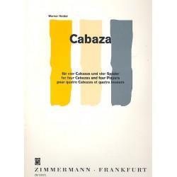 Heider, Werner: Cabaza : f├╝r 4 Cabazas und 4 Spieler 2 Spielpartituren