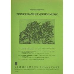 Deisenroth, Friedrich: Fanfaren-Musik Band 3 : 4stimmige Stücke für Fanfaren in Es, Baßfanfare in Es ad lib. und Pauken,