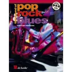 Merkies, Michiel: The Sound of Pop Rock Blues Band 1 (+CD) : für Mallets