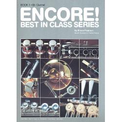 Pearson, Bruce: ENCORE : B-KLARINETTE ERGAENZUNG ZU BEST IN CLASS ANDERSON, GERALD, KOAUTOR